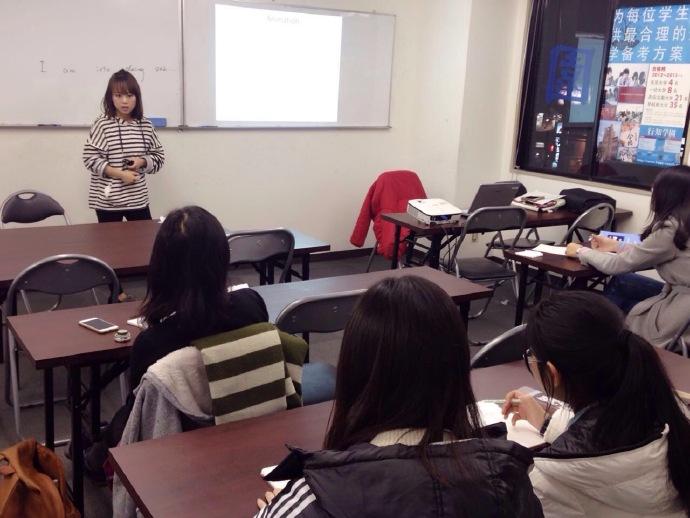 TOEFL授業イベントの様子